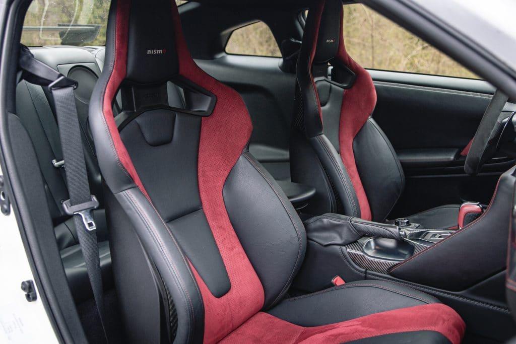 Intérieur de la Nissan GT-R Nismo