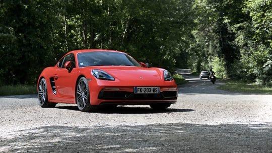 Essai auto de la Porsche 718 Cayman S