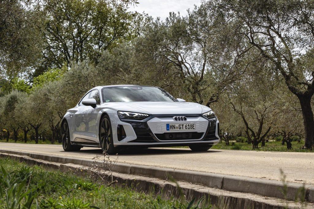 Profil de l'Audi e-tron GT