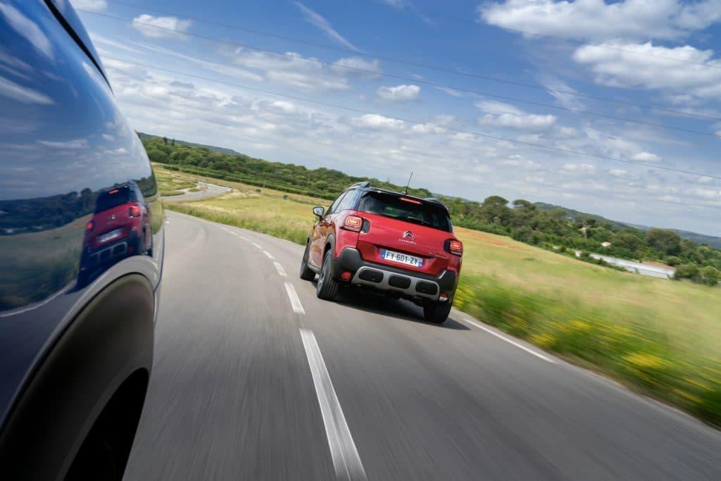 Arrière du Citroën C3 Aircross