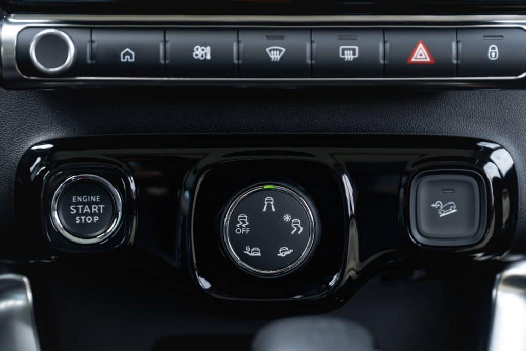 Commandes du Citroën C3 Aircross