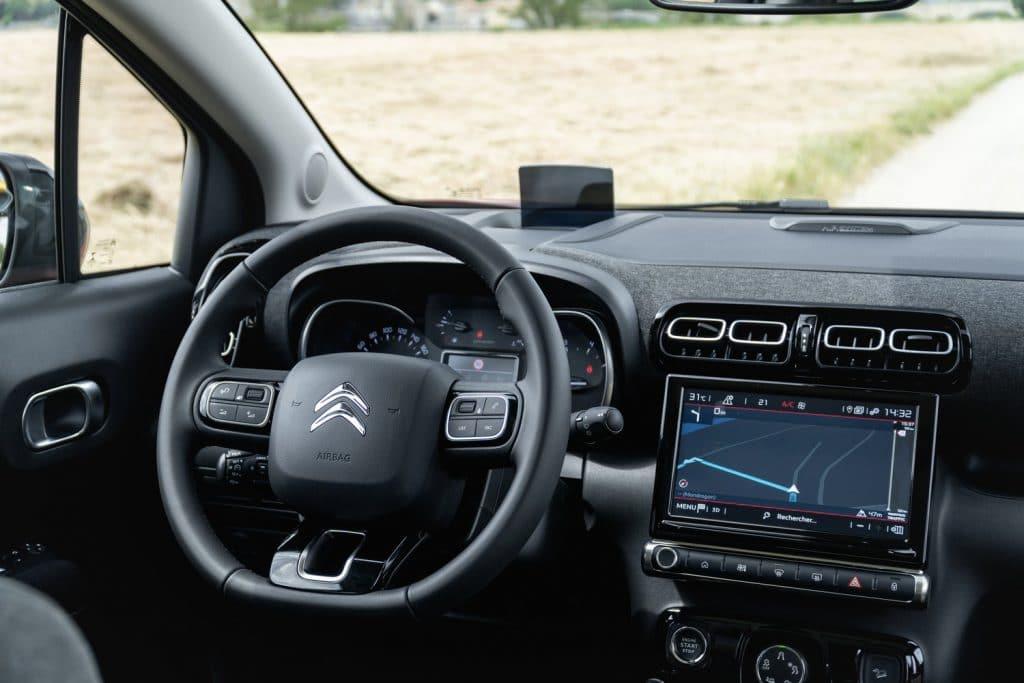 Poste de conduite du Citroën C3 Aircross