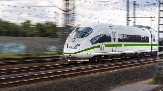 Train ICE de la Deutsche Bahn