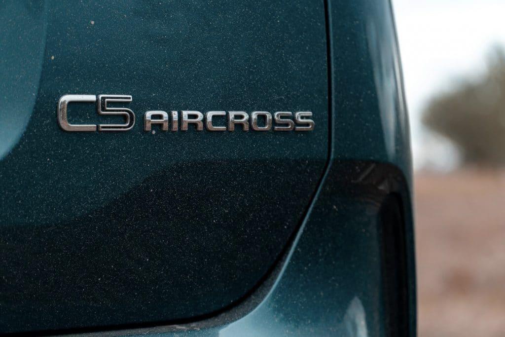 Arrière du Citroën C5 Aircross