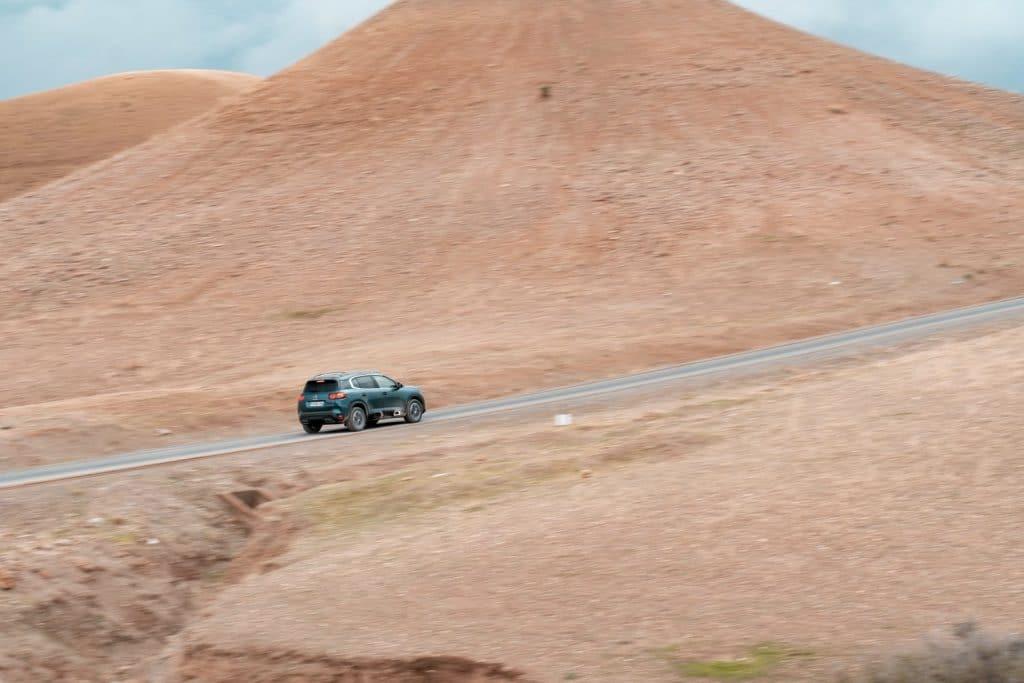 Conduite du Citroën C5 Aircross