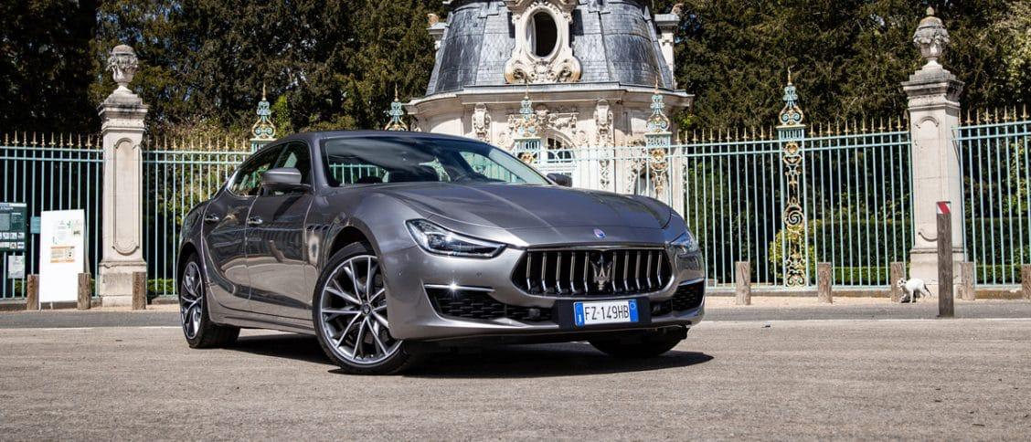 Essai auto de la Maserati Ghibli hybride