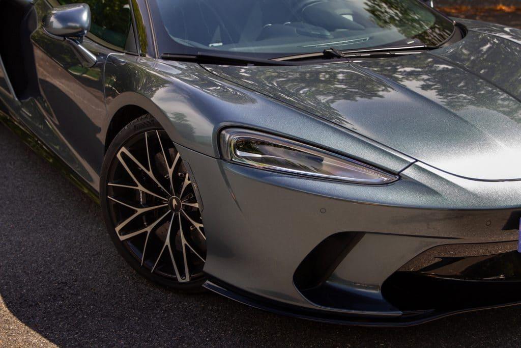 Calandre de la McLaren GT